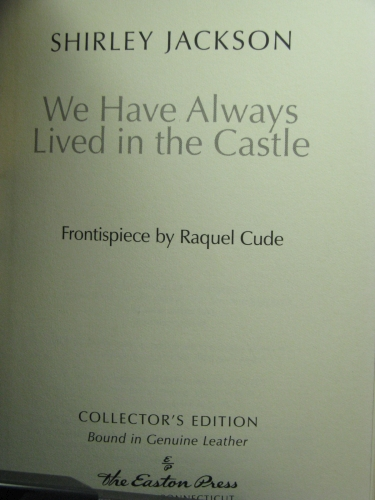we have always lived in the castle analysis